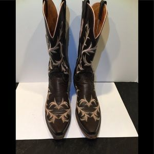 1883 Lucchese western style women's boot.